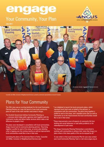 Engage - Community Planning Newsletter - July 2011 - Angus ...