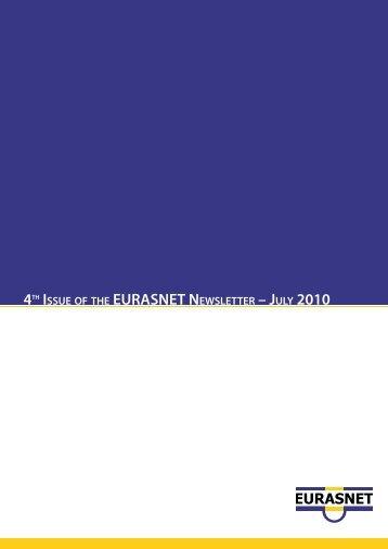 Fourth issue EURASNET newsletter August 2010 - Eurasnet.info