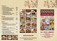 Tel.: 05121-9990201 www.noosou.de