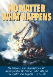 NOMATTER WHAT HAPPENS NOMATTER WHAT ... - CBN.com