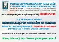 POLSKIE STOWARZYSZENIE NA RZECZ OSÓB