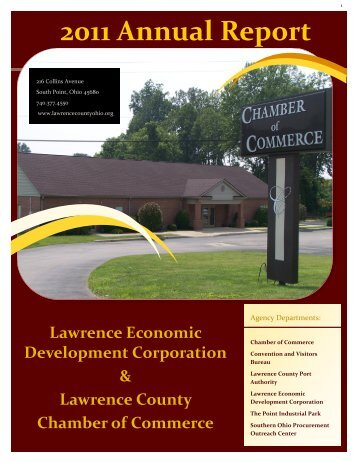 2011 Annual Report - Lawrence County Chamber of Commerce