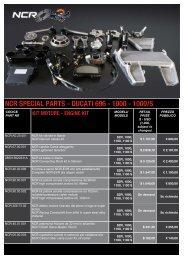 ducati 696 - 1000 - NCR