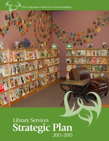 View our Strategic Plan - Greater Sudbury Public Library