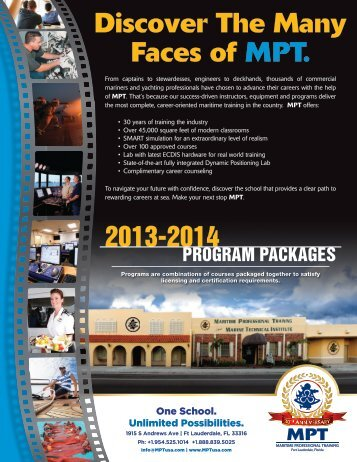 Check out the 2013 - 2014 Basic Safety Packages - Maritime ...