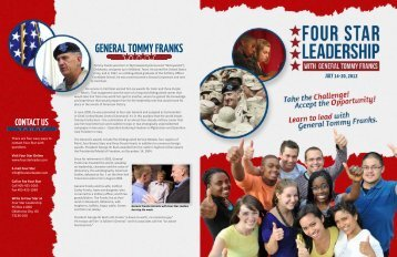 General Tommy franks - Military Child Education Coalition