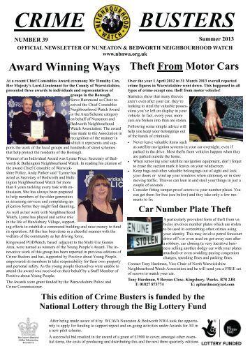 Award Winning Ways - Neighbourhood Watch