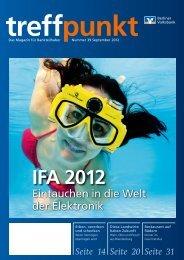 Ausgabe 39 (September 2012) - Berliner Volksbank