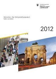 München. Der Wirtschaftsstandort. - Referat für Arbeit und Wirtschaft