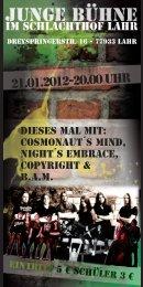 21.01.2012-20.00 Uhr - Schlachthof Lahr