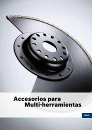 Accesorios para Multi-herramientas - Herramientas eléctricas