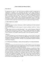 Charte de dépôt électronique des thèses - Le CEAC - Lille 3