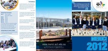 Merici Prospectus 2012.pdf - Merici College
