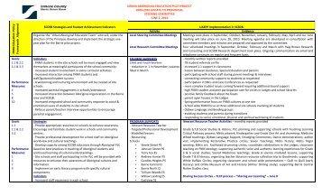 SCDSB UAEP June 2 Report