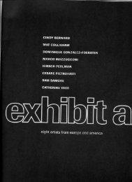 Exhibit A, Trading Places - Cindy Bernard