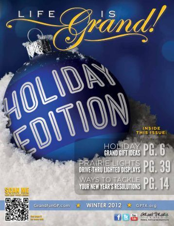 Winter 2012 - The City of Grand Prairie Parks and Recreation ...