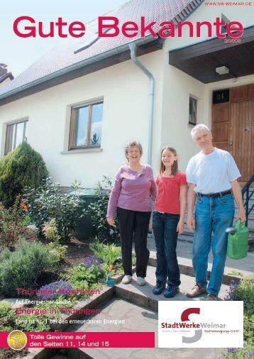 Gute Bekannte2/2008 - Stadtwerke Weimar
