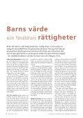 tema: bArn till vArje pris? - Sveriges Ekumeniska kvinnoråd - Page 6