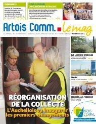 Novembre 2012 - Artois Comm.