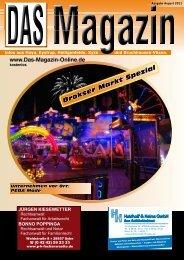 Ausgabe August 2011 - Flyer- und Plakatverteilung