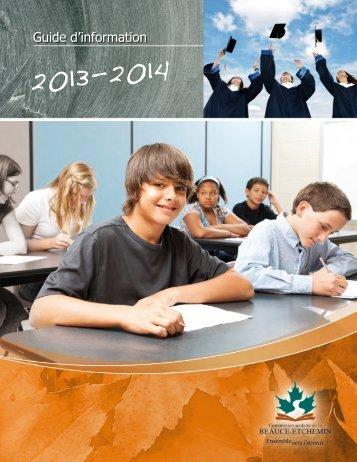 formation professionnelle - Commission scolaire de la Beauce ...