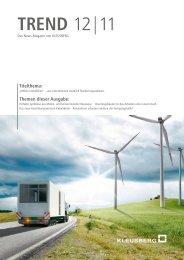 TREND 12 11 (Nr. 23) - Kleusberg GmbH & Co. KG