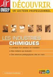 LES INDUSTRIES CHIMIQUES - Onisep