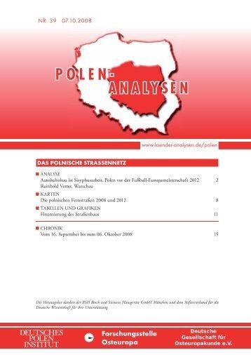 Polen vor der Fußball-Europameisterschaft - Laender-Analysen