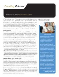 Division of Gastroenterology and Hepatology - University of ...