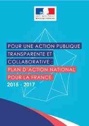 Plan d'action national pour la France