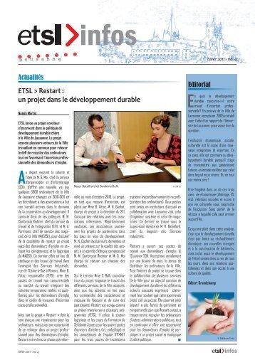 Bulletin no 04 - HIVER 2011.indd - ETSL
