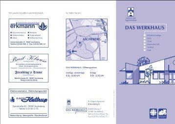 DAS WERKHAUS - Sozialwerk St. Georg