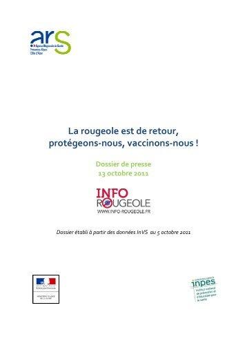 La rougeole est de retour - ARS Poitou-Charentes