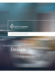 Auf einen Blick (pdf) - German Design Council