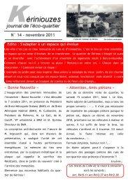 N° 14 ‐ novembre 2011 - Wiki-Brest