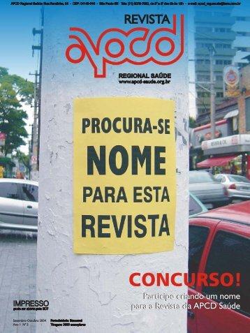 Revista 5 - APCD da Saúde