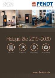 Eisen Fendt Heizgeräte 2019-2020