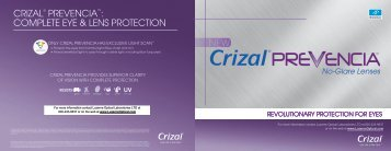 new crizal® prevencia - Luzerne Optical Laboratories