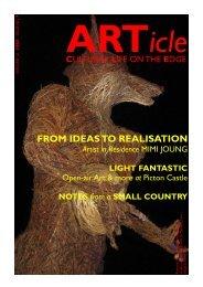 ARTicle WINTER 10 - Artists Pembrokeshire