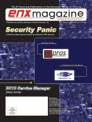 August 2010 Issue pdf - ENX Magazine
