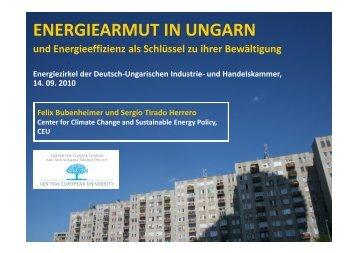(in)effizienz Komponenten der Energiearmut Energie