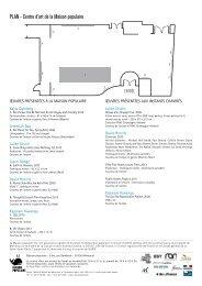 Feuille de salle Le Tamis et le sable 2/3 : L ... - Maison Populaire