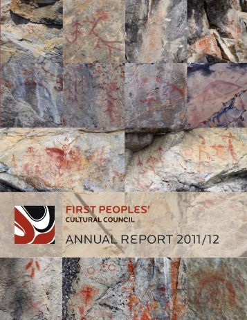 First Peoples' Cultural Council Annual Report 2011/12