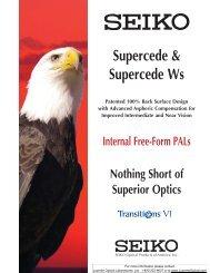 Supercede & Supercede Ws - Luzerne Optical Laboratories