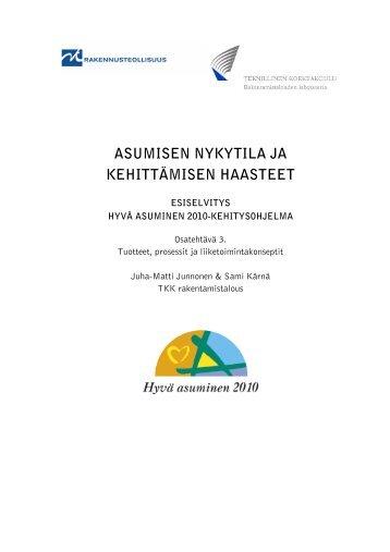 Hyvä asuminen 2010 - anttilanmaki.fi