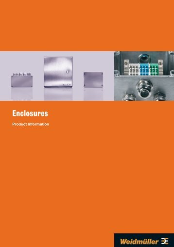 Enclosures - Weidmuller