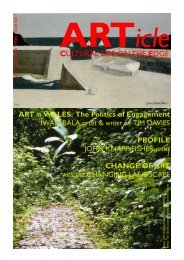 ARTicle LATE SUMMER 10 - Artists Pembrokeshire