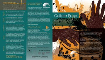 CulturePulseBrochure2013.pdf - Community Partnership for Arts ...