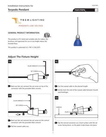 Torpedo Pendant - Tech Lighting