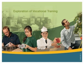 Exploration of Vocational Training